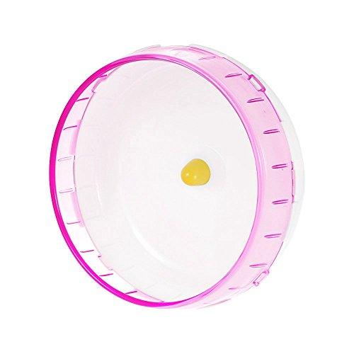 Decdeal Laufball Hamsterlaufrad für Hamster, Rennmaus und Ratte Ø 21 cm