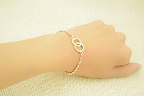Xizi 18K Rose Gold-Plated Kreatives Design Elegantes Muster Armband Armbänder