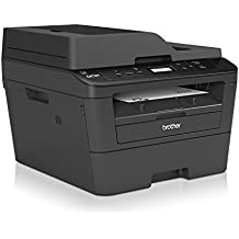 Brother DCP-L2540DN - Impresora multifunción láser monocromo (impresión automática a doble cara, con red cableada), color negro