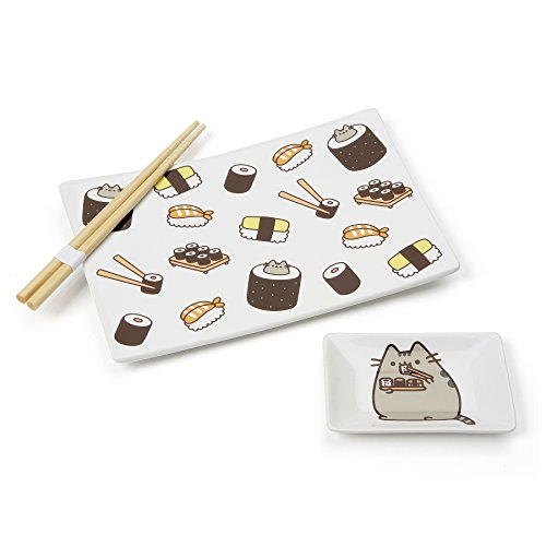 Pusheen Our Name is Mud Sushi Plate Set
