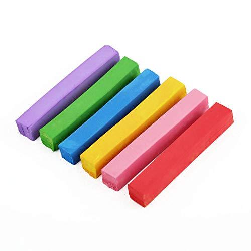 6 farben modische haarnadeln haarfärben haarfarbe kreidestift personalisierte diy haar schönheit stil werkzeuge farbstoff haarkreide - nulticolor