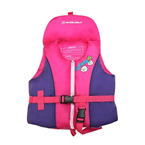 Jungen Mädchen Schwimmweste - Kinder Bademode Schwimmtraining Aids um Schwimmen Badeanzug Aufblasbar Schwimmjacke zu Lernen Größe S M L ()