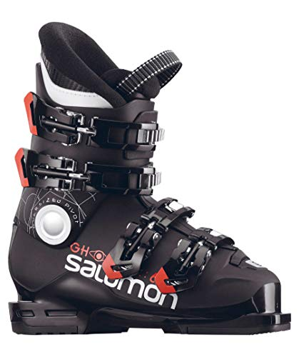 SALOMON Kinder Skischuhe Ghost 60T L schwarz/orange (704) 25,5