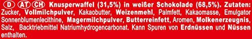 Nestle KitKat Chunky White Schoko-Riegel, Weiße Schokolade, 24er Pack (24 x 40g) großpackung