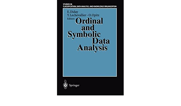 Buy Ordinal And Symbolic Data Analysis Proceedings Of The