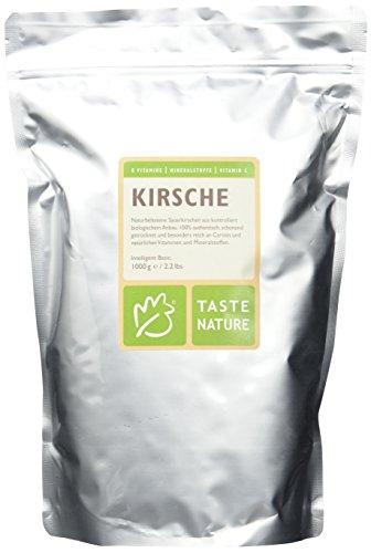 Taste Nature Kirsche Bio, 1er Pack (1 x 1 kg Packung) - Bio