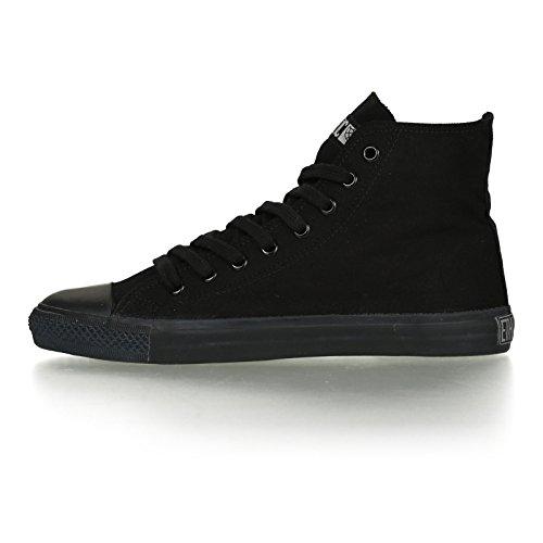 Ethletic Black Cap HiCut / High-Sneaker aus Bio-Baumwolle in schwarz – fair & nachhaltig - 3