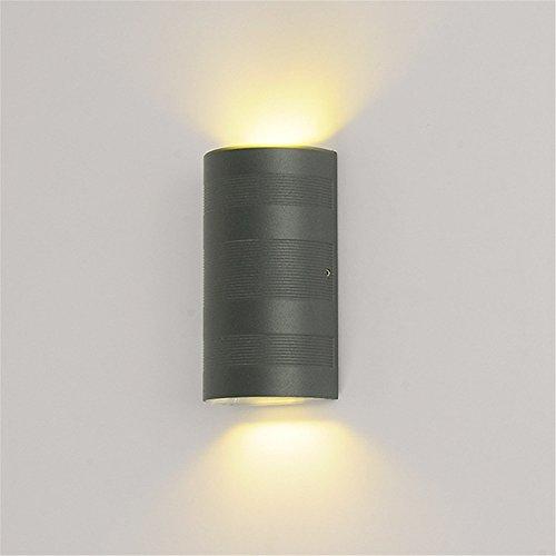 YU-K Chambre Simple Vintage wall lamp creative living salle à manger chambre lumières lumières allée Outdoor wall lamp étanche extérieur allée intérieure double vent industriels wall lamp, 6W, 160 * 90 * 55mm