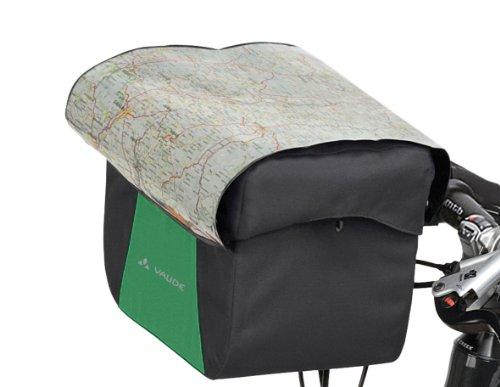vaude-discover-box-bolsa-delantera-para-bicicleta-20-x-27-x-16-cm-verde-meadow-black-tallatalla-unic