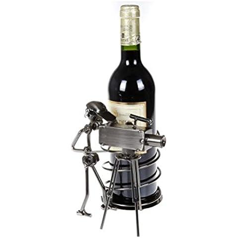 H&M Fotógrafos creativos estante del vino
