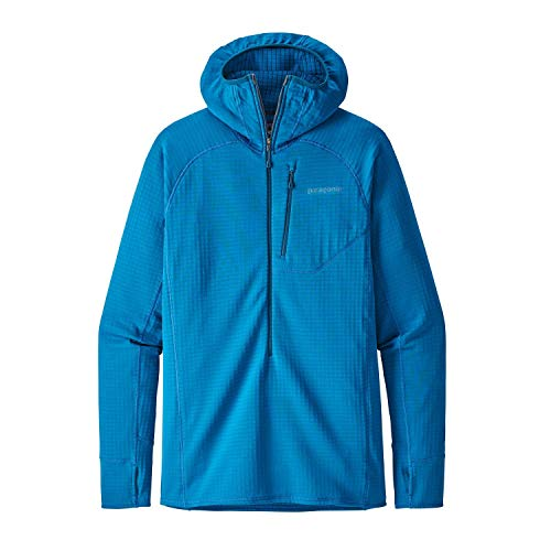 Patagonia Herren Fleecejacke R1 Hooded Fleece Pullover (Patagonia-hooded Fleece)