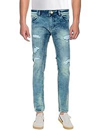 Stand By Men's Mid Rise Jeans Men Blue Jeans Men Comfortable Jeans For Men