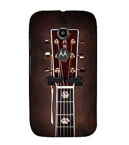PrintVisa Designer Back Case Cover for Motorola Moto E2 :: Motorola Moto E Dual SIM (2nd Gen) :: Motorola Moto E 2nd Gen 3G XT1506 :: Motorola Moto E 2nd Gen 4G XT1521 (A String Panel of A Guitar)