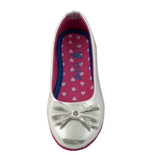 Beanie Bugs silver Ballerina with bow for Girls