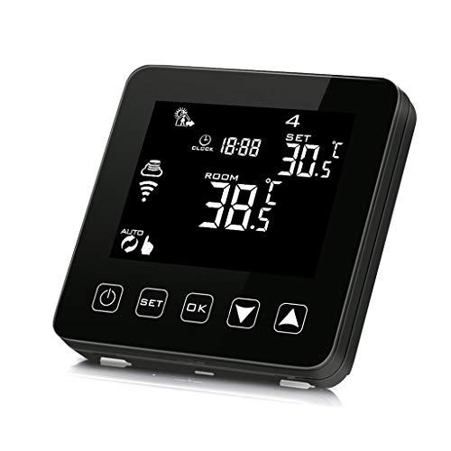 Duyummy WiFi Programmierbare Thermostat Echo Alexa Sprachsteuerung Elektrische Fußbodenheizung Raumtemperaturregler 16A 100-240V