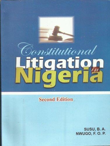 Constitutional Litigation in Nigeria