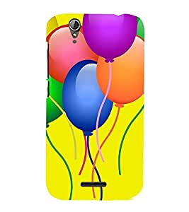 Balloons Clipart 3D Hard Polycarbonate Designer Back Case Cover for Acer Liquid Zade Z630 :: Acer Liquid Zade Z630S