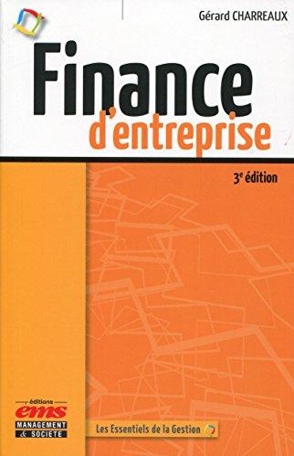 Finance d'entreprise par Gérard Charreaux