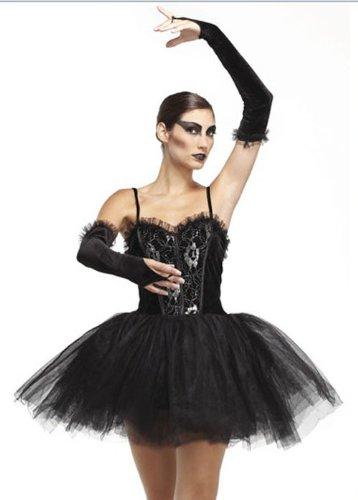 lerina, Black Swan, Gothic, Halloween Costume (Damen: 42) (Kostüm Halloween Black Swan)