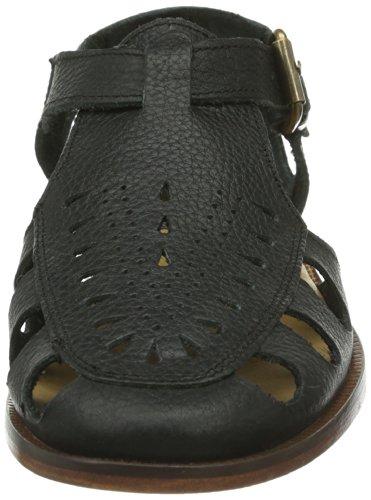 Hudson London Sherbert G903010 Damen Sandalen Schwarz (Black)