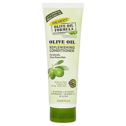 Palmer's Après-Shampooing Répateur à l'Huile d'Olive Extra Vierge Certifiée Bio et à la Vitamine E Enrichie pour Cheveux Doux 250ml