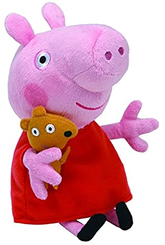 Ty – Beanies – Peppa Pig – Peppa – Peluche Douce 20 cm