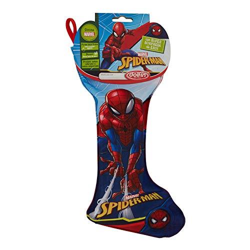Calza della befana spiderman uomo ragno 150 gr con cioccolate assortite e fantastica sorpresa