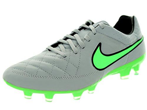 Nike Tiempo Legacy Fg, Chaussures de football homme Grau/Grün
