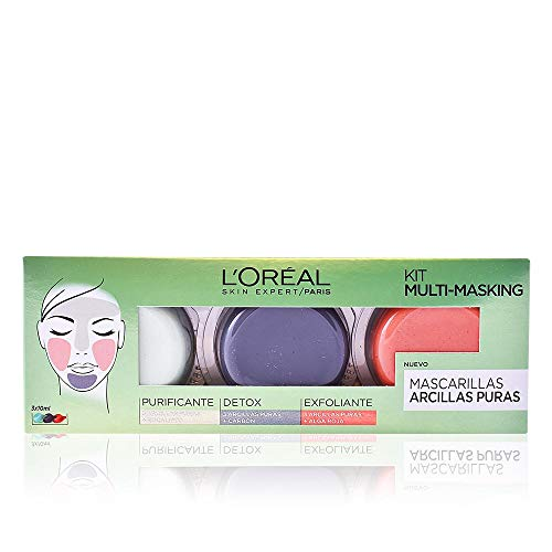 L'Oréal Paris Arcillas Puras Kit Multi-Masking -