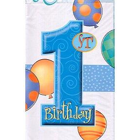 First Birthday Boy Tablecover