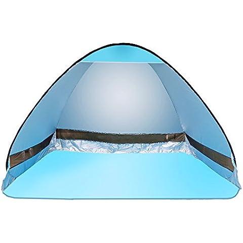 Pop-up Tenda Portatile Beach Esterno Oobest 2-3 Automatico Istante di Campeggio Escursionismo Pesca Picnic Shelter Anti UV Installa in Secondi