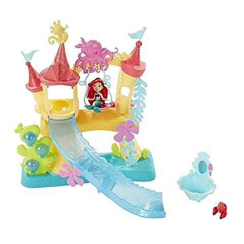 Hasbro Disney Prinzessin B5836EU4 - Disney Prinzessin Little Kingdom Arielle's Wasserschloss, Puppen (Disney Castello)