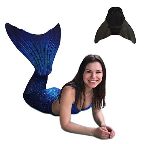 SUN TAILS Juego Sirenas Disfraz Ocean Deep Mono Aletas Sirena Aletas para...