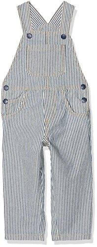 Marc O'Polo Kids Jungen Latzhose, Mehrfarbig (y/d Stripe Vertical 0005), 74 (Kinder T-shirt Oshkosh)