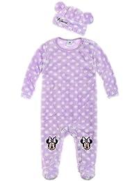 Disney Minnie Babies Babyanzug und Mützchen - lila