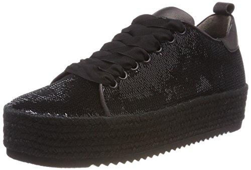 Kennel und Schmenger Damen Hill Sneaker, Black Bastsohle Schwarz, 38.5 EU (Hills-schuhe Für Frauen)