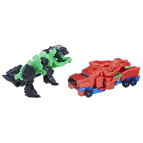 Transformers - Optimus Prime & Grimlock (Robots in Disguise Crash Combiner), E1111ES0