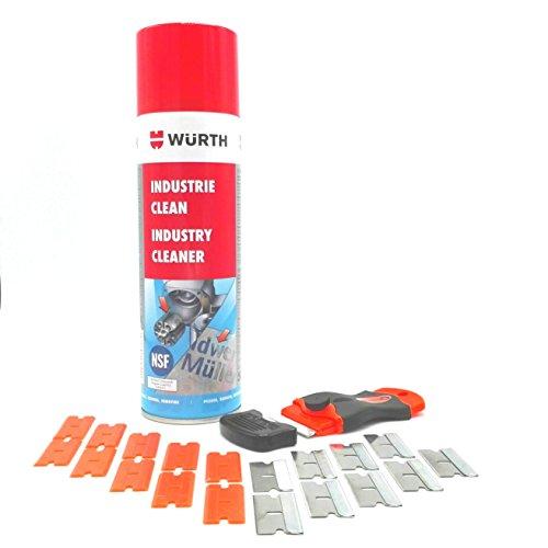 Aufkleber Klebereste Entferner Set 22-Teilig inkl. individuall® Schaber