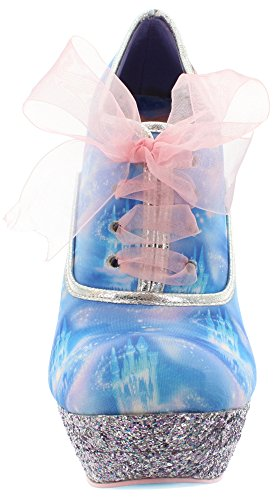 Irregular Choice Damen Call Me Cinders Pumps Blue