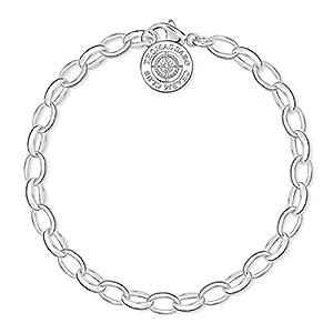 """THOMAS SABO """"Diamant Diamant weiß Charm Armband dcx0001-725-14"""