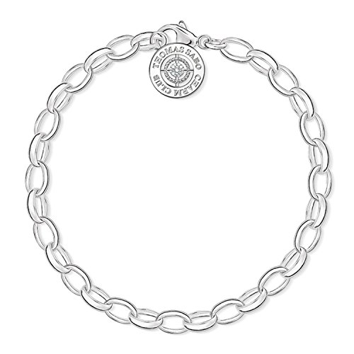 mband Charm Club 925 Sterling Silber Diamant, 14.5 cm - DCX0001-725-14-S ()