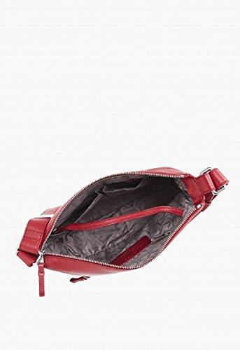 Bree Faro 2 Cross Shoulder Bag Grosse M Hoboform Brick Red Brick Red