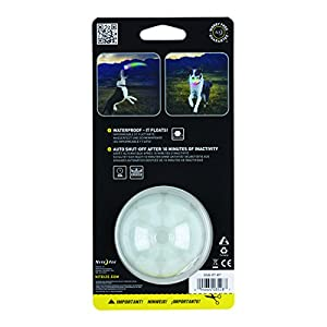 Nite Ize GlowStreak LED Dog Ball, Bounce-Activated Light Up Dog Ball 7