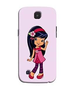 PrintVisa Designer Back Case Cover for LG K3 :: LG K3 Dual K100 LS450 (Cute Little Girl Dressed In Pink)