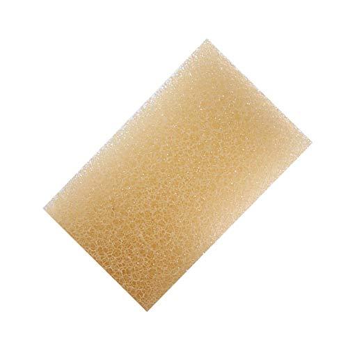 Glory.D 2pcs Off-White Loofa Artificial Luffa Loofa Antiadherente Aceite Esponja de Limpieza con Buena Detergencia para Cocina, Platos, Baño