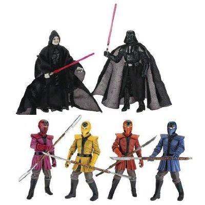 Hasbro Star Wars VADER amp; EMPEROR Imperial Guard training figure set