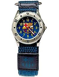 93ff20d8e127c Reloj de Pulsera analógico cadete Velcro Barcelona F.C.