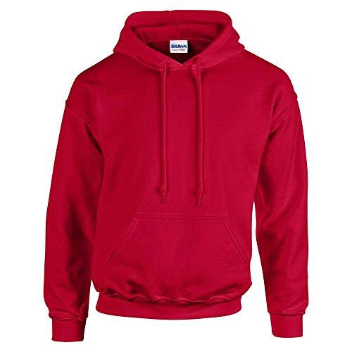 GILDANHerren Sweatshirt Rot - Cherry Red*