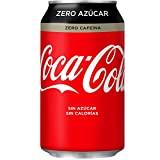 Coca-Cola - Zero Zero (Sin Cafeína), Lata 330 ml - [pack de 12]