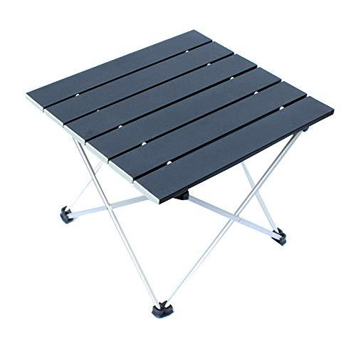 WJQ Aluminium Klapptisch Outdoor Camping Supplies Solide und stabiles Leben Einfach Praktisch Leicht zu installieren Leicht zu reinigen Geeignet für selbstfahrende Camping Barbecue Picknick -